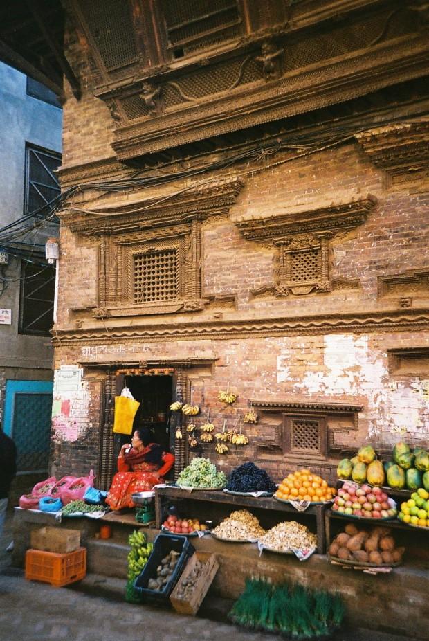 Market in Patan, Nepal