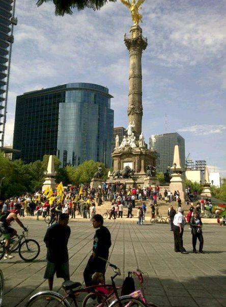 Monumento a la Independancia, Mexico City, Mexico
