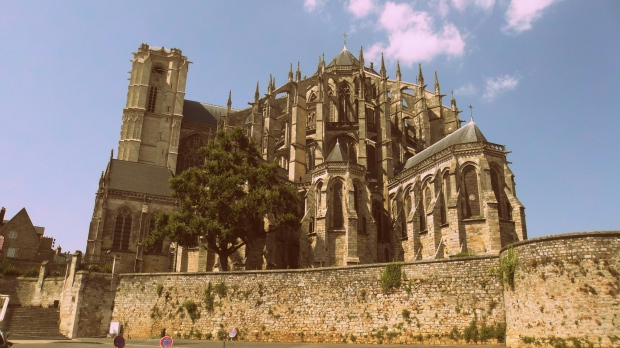 Cathedral Saint Julien, Le Mans, France