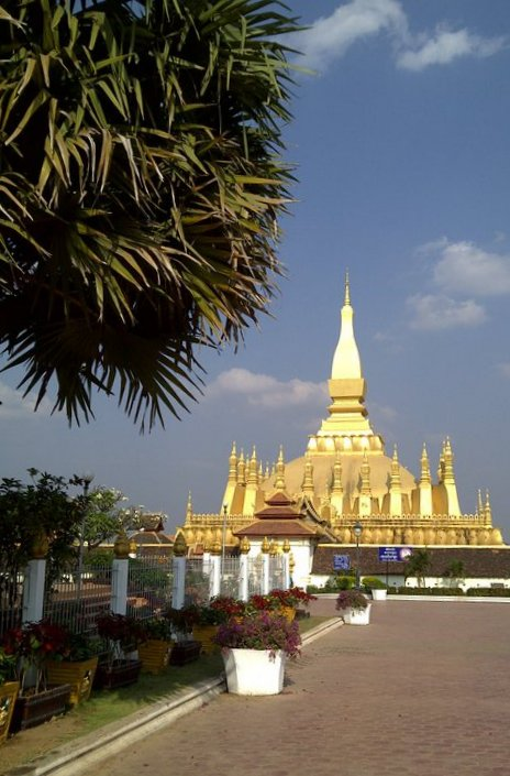 Pha That Luang, Vientiane, Lao P.D.R