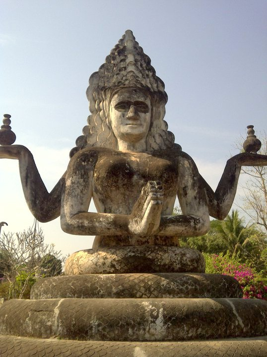 Buddha Park, Vientiane, Lao P.D.R