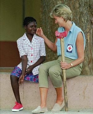 ... et la vraie Lady Di en Angola