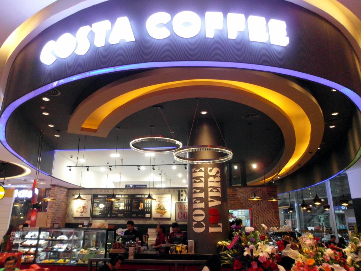 Bangkok Foodie: Costa Coffee, Siam Paragon