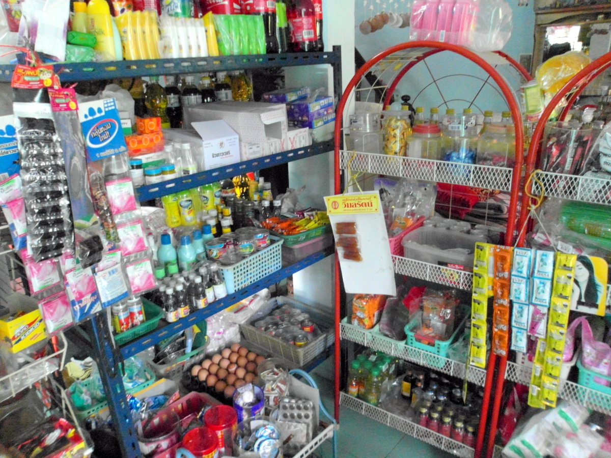 Thai traditionnal grocery shop