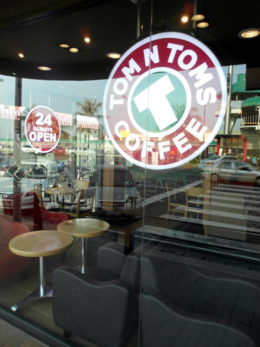 Bangkok Foodie:  Tom N Toms Coffee, Bangkok