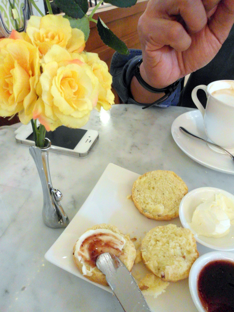 Bangkok Foodie:  Scones by Anotai, Central World